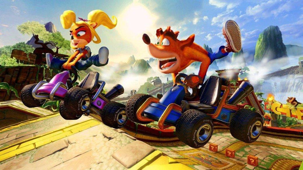 «Крэш вернулся, детка» — критикам понравился ремейк Crash Team Racing: Nitro-Fueled | Канобу - Изображение 1