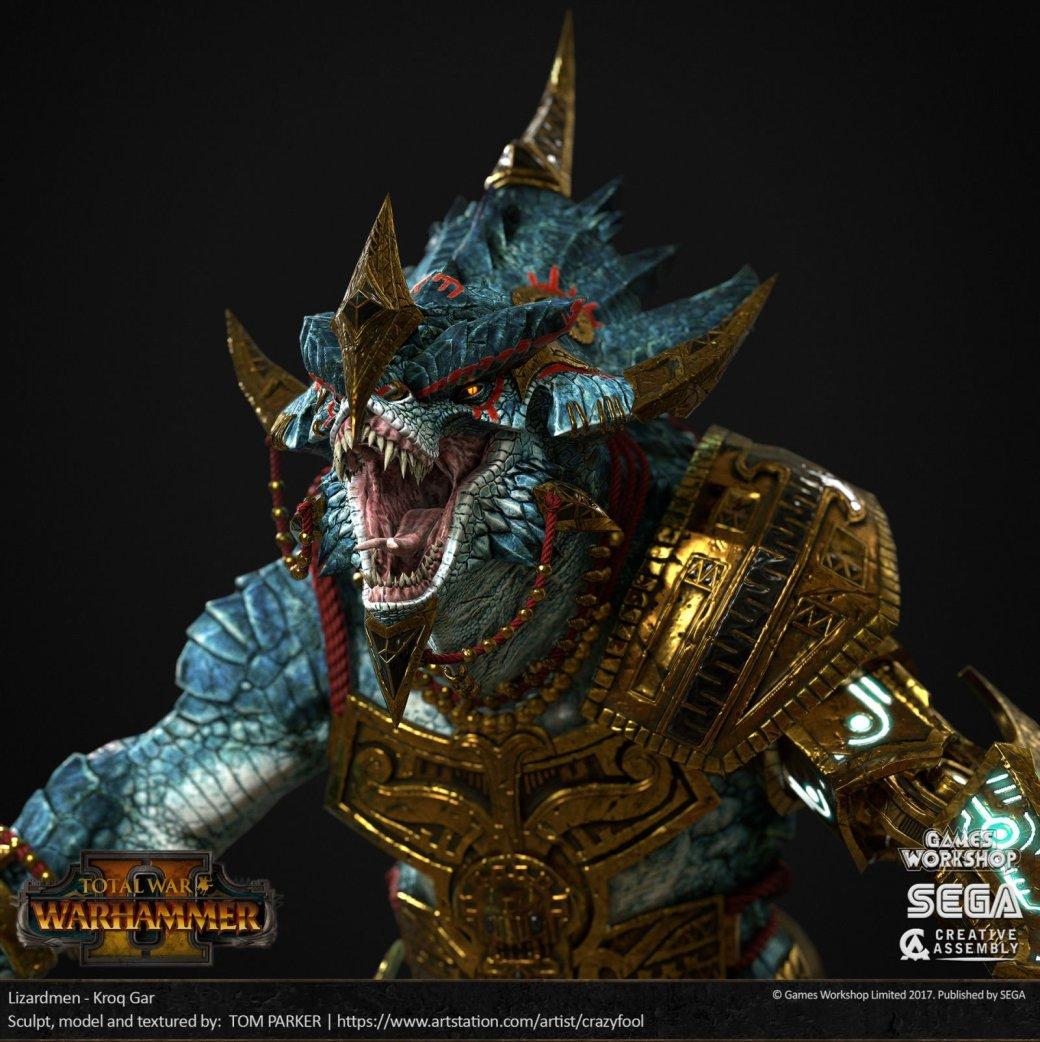 Взгляните напотрясающие концепт-арты Total War: Warhammer II. - Изображение 18