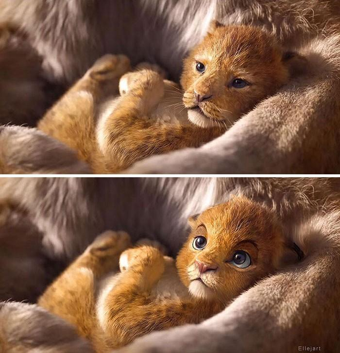 Художник перерисовал персонажей ремейка «Короля льва» в стиле оригинального мультфильма | Канобу - Изображение 8134