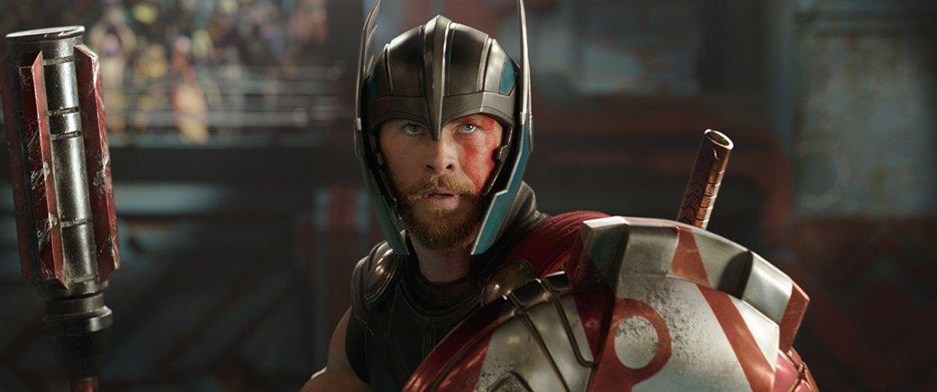 Секира вместо молота. Похоже, Тор в «Войне бесконечности» вооружится Ярнбьорном. - Изображение 1