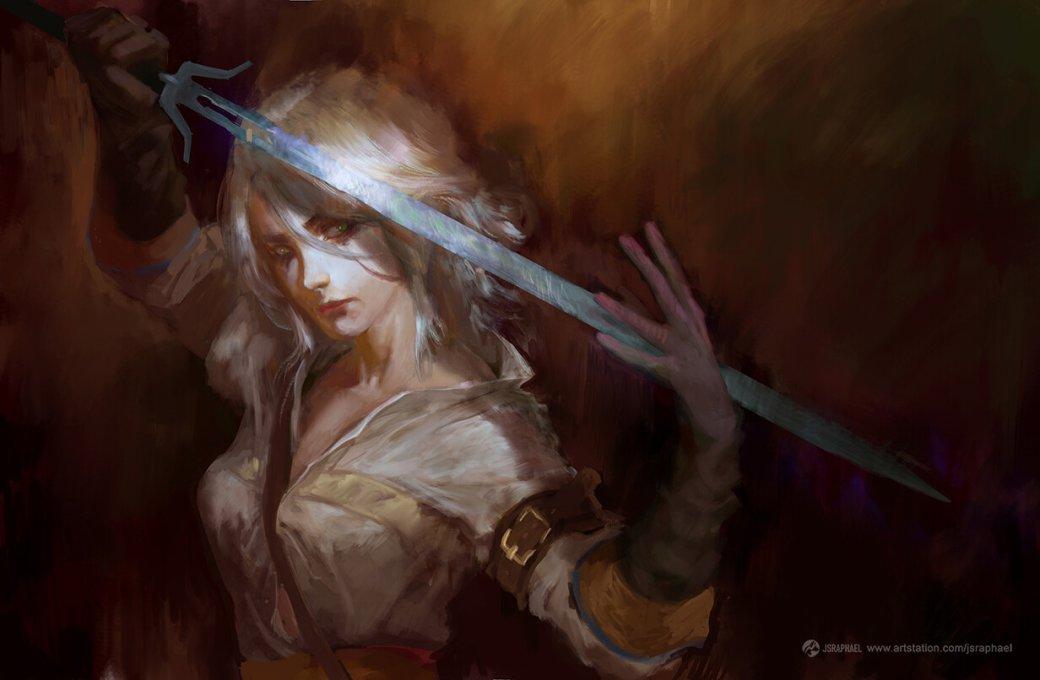 Галерея. Крутейший фанарт по«Ведьмаку», откоторого сразуже хочется перепройти трилогию игр | Канобу - Изображение 6286