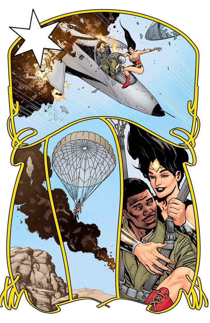 Вновом комиксе оЧудо-женщине амазонки сражаются против нацистов   Канобу - Изображение 3