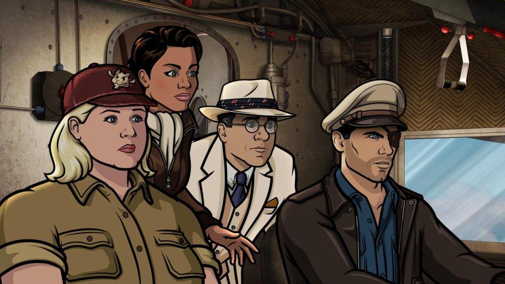 Первые впечатления от9 сезона мультсериала «Спецагент Арчер» | Канобу