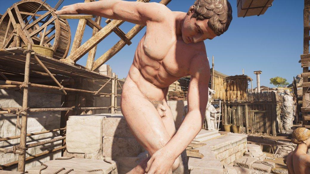 Журналист PCGamer составил топ пенисов изAssassin's Creed Odyssey— речь, конечно, остатуях | Канобу - Изображение 12