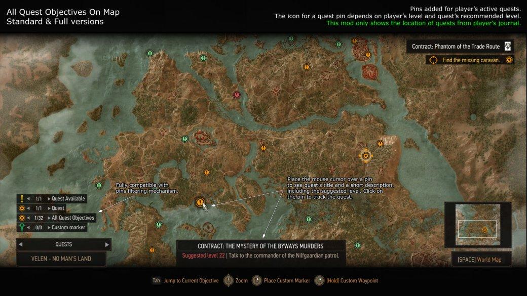 7 лучших исамых полезных модов для The Witcher 3: Wild Hunt