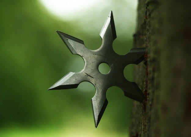Моддер добавил вFallout 4 метательные ножи, сюрикены ипушку-скалку! | Канобу - Изображение 9204