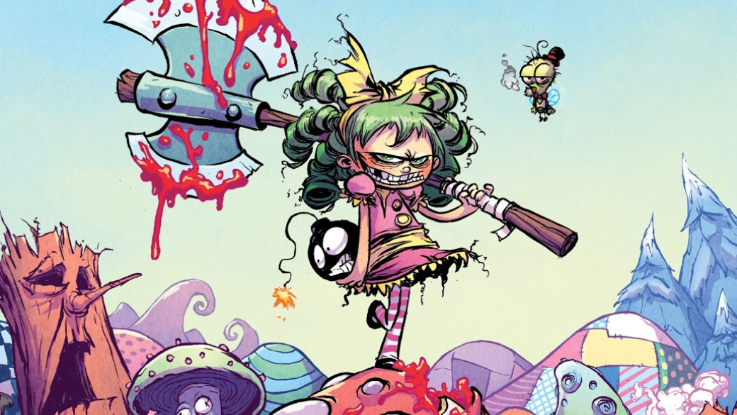 «Яненавижу Страну Чудес»— самый милый исказочный фэнтези-комикс сультранасилием ирасчлененкой   Канобу