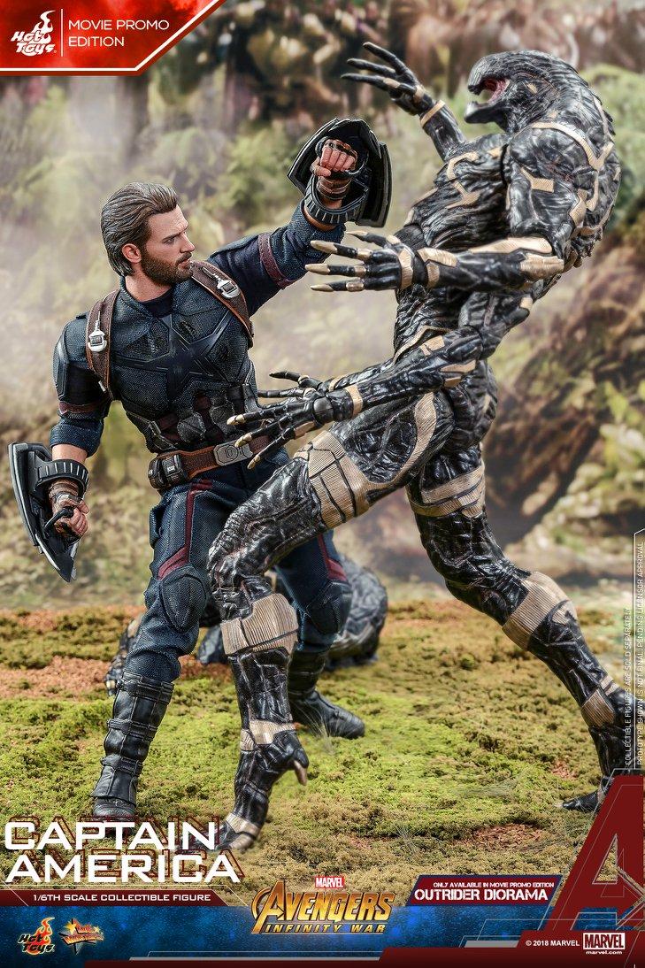 Взгляните нановую фигурку Капитана Америка из«Войны Бесконечности» отHot Toys. - Изображение 3