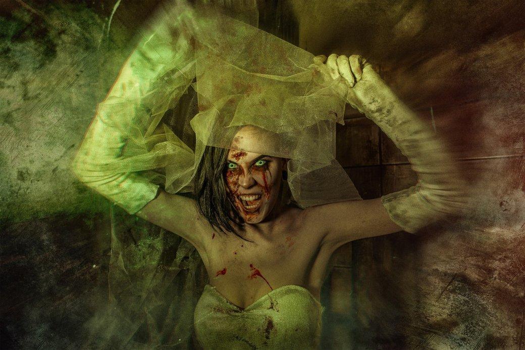 Косплей дня: жуткая невеста из игры Outlast: Whistleblower. - Изображение 11