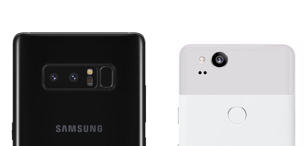 Смартфон с лучшей камерой: Google Pixel 2 против Samsung Galaxy Note8   Канобу