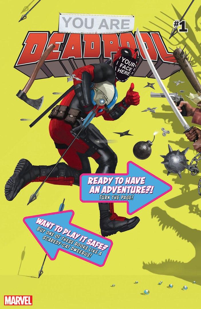 Новый комикс оДэдпуле станет настольной игрой, где нужно разрушать «четвертую стену» | Канобу - Изображение 1