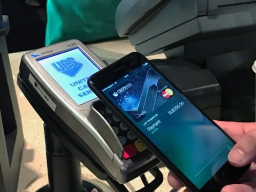 Apple Pay заработал на территории России