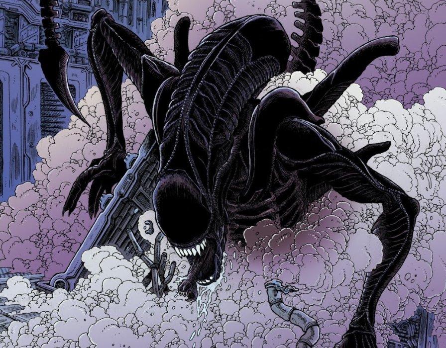 Комикс о Чужих, ксеноморфах Aliens: Dead Orbit.   Канобу