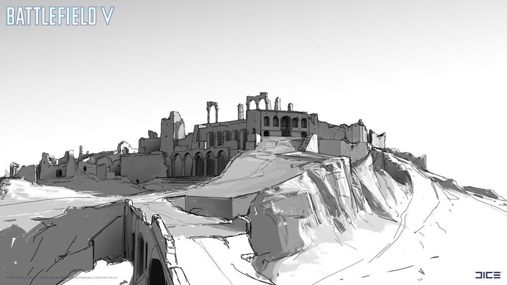 Взгляните на атмосферные концепт-арты и иллюстрации по Battlefield V   Канобу - Изображение 257