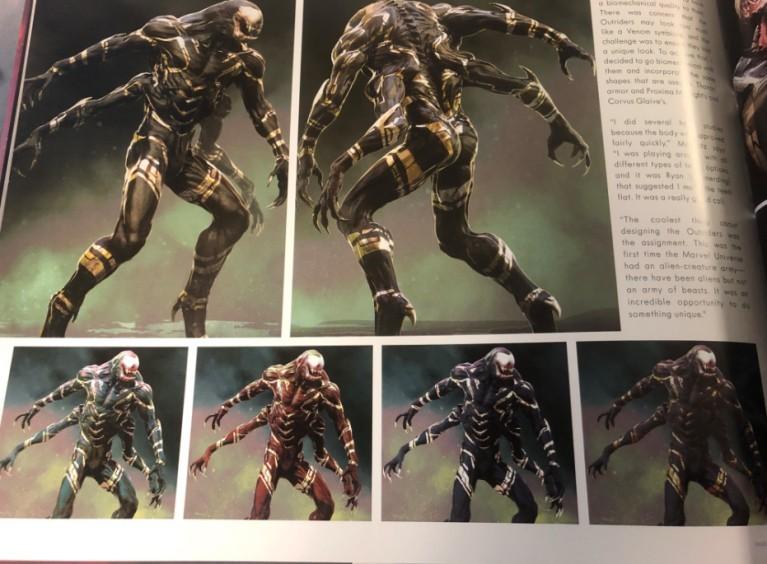 Армия Таноса в«Войне Бесконечности» поначалу выглядела как орда Веномов | Канобу - Изображение 2
