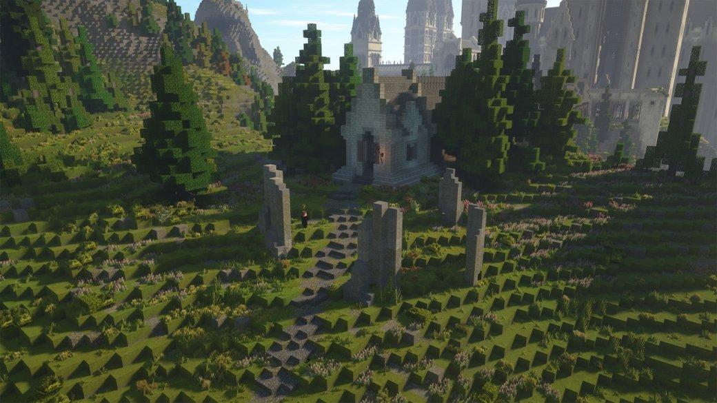RPG по«Гарри Поттеру» наоснове Minecraft— какие места изкниг ифильмов вней есть? | Канобу - Изображение 802