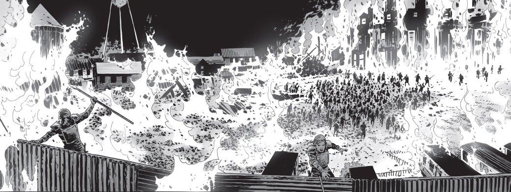 Война с Шепчущимися в комиксе The Walking Dead не оправдала ожиданий | Канобу - Изображение 24