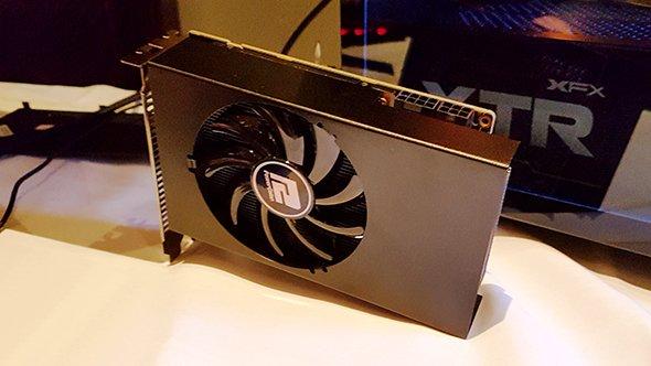AMD представала компактную инедорогую видеокарту RXVega 56 Nano. - Изображение 1