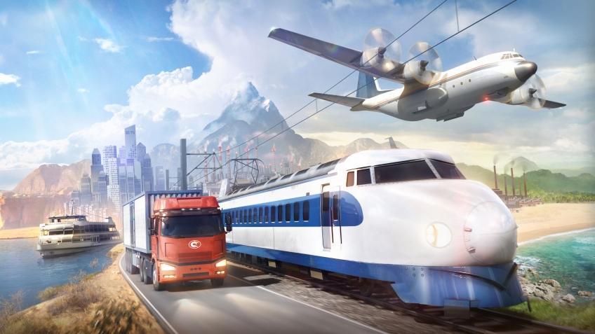 ПревьюTransport Fever 2— игра, где можно застроить железными дорогами все что угодно | Канобу
