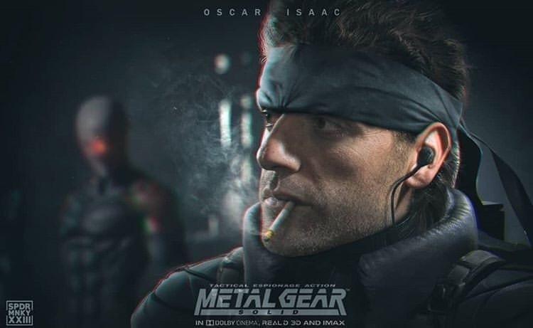 СМИ: Оскар Айзек сыграет Солида Снейка вэкранизации Metal Gear Solid   Канобу - Изображение 10536