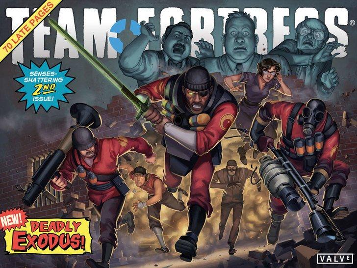 Комиксы по Team Fortress полны отсылок к знаменитым сюжетам Marvel/DC | Канобу - Изображение 3395