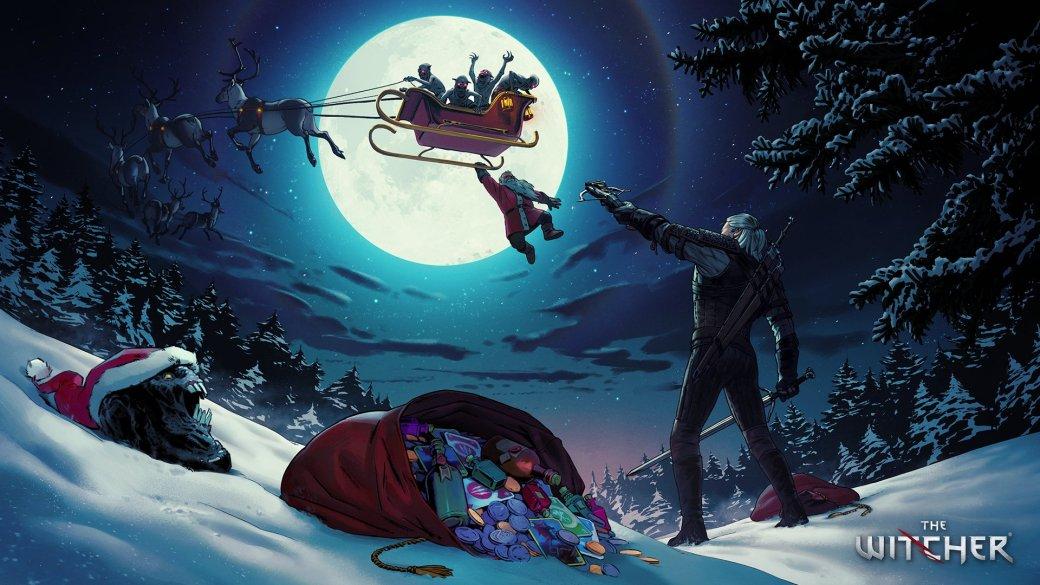 Издатели иразработчики поздравляют игроков сНовым годом иРождеством. Подборка открыток | Канобу - Изображение 6922