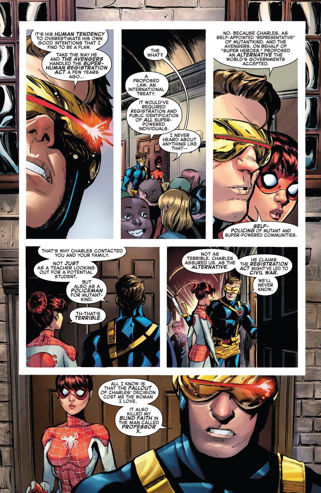 Люди Икс и родители не могут поделить дочь Человека-Паука | Канобу - Изображение 7978