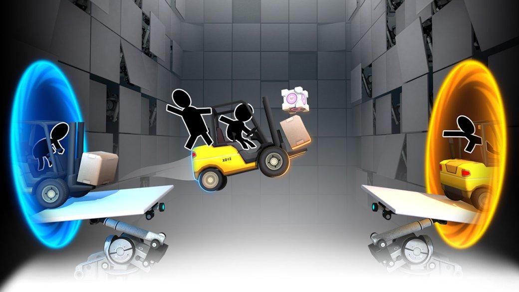 Рецензия на Bridge Constructor Portal. Обзор игры - Изображение 1