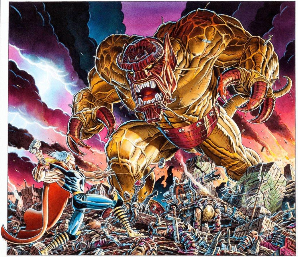 Мифология скандинавов вкомиксах Marvel— отТора иего окружения доисторий вроде War ofthe Realms | Канобу - Изображение 7