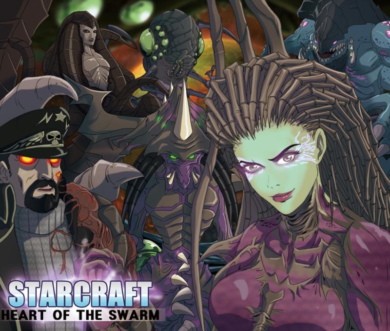 Аниме по StaCraft 2 выглядело бы именно так. - Изображение 2