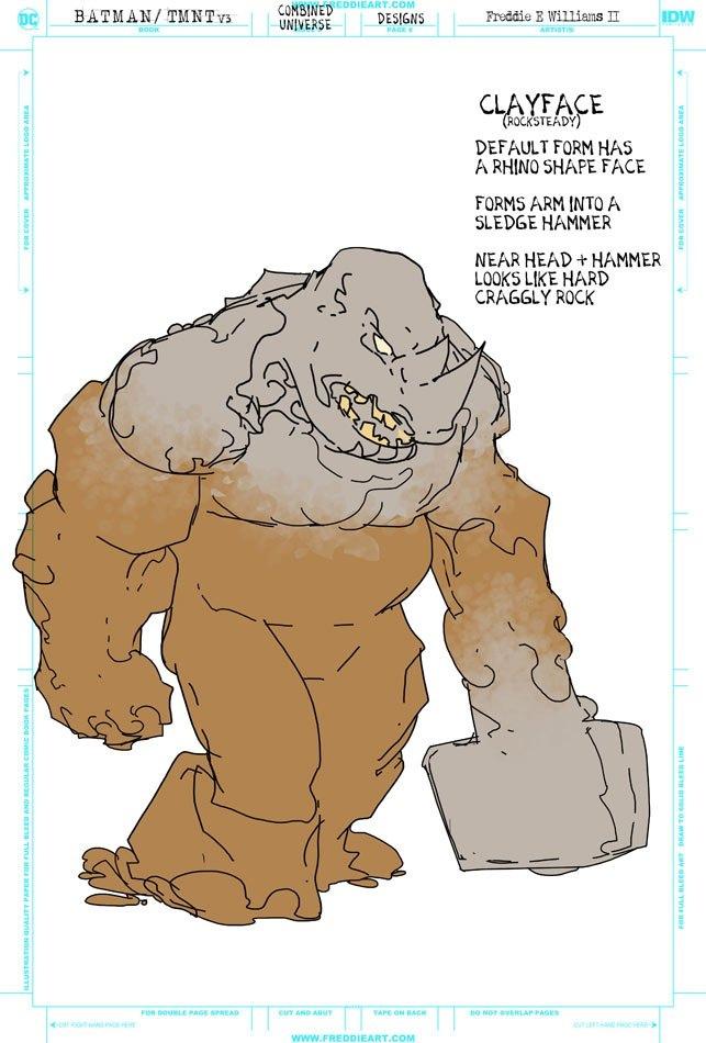 Втретьем кроссовере Черепашек-ниндзя иБэтмена появятся гибриды героев. Например, Найтвинг-Леонардо   Канобу - Изображение 7265