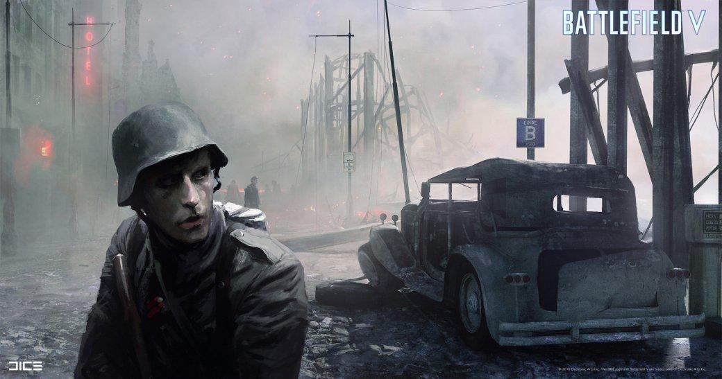 Взгляните на атмосферные концепт-арты и иллюстрации по Battlefield V   Канобу - Изображение 253