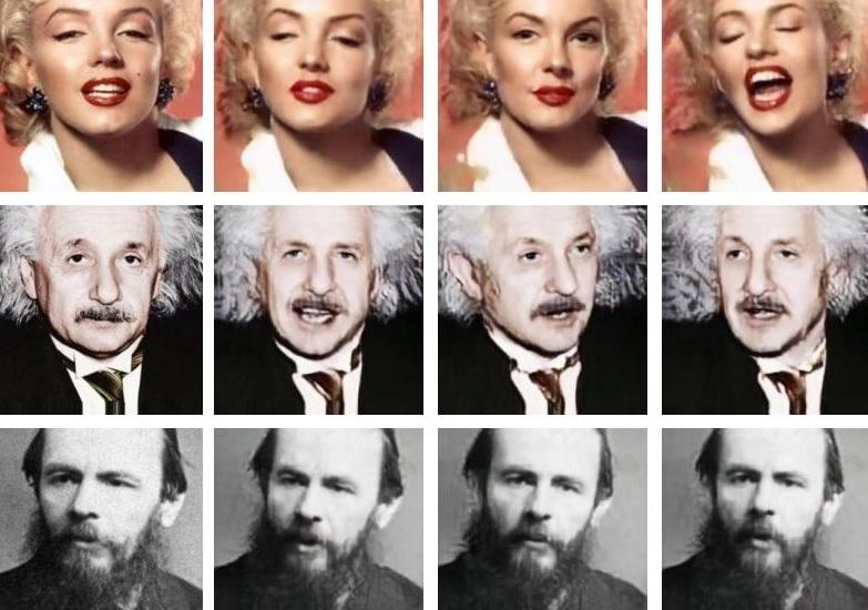 С помощью искусственного интеллекта Samsung превращает фотографии в говорящие головы   Канобу - Изображение 5118