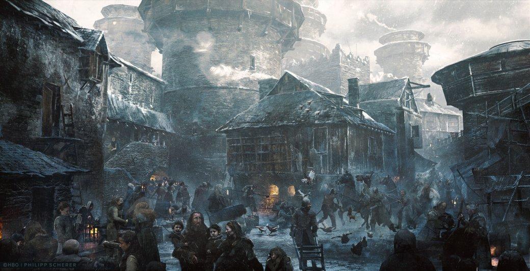 Художник выложил концепт-арты к8 сезону «Игры престолов». Иххоть сейчас ставь нарабочий стол | Канобу - Изображение 0