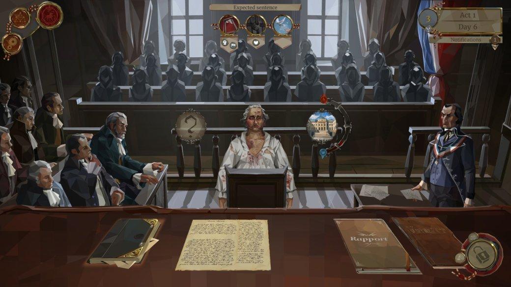 РазбираемWe. The Revolution— (несовсем) симулятор судьи вреволюционной Франции | Канобу - Изображение 5