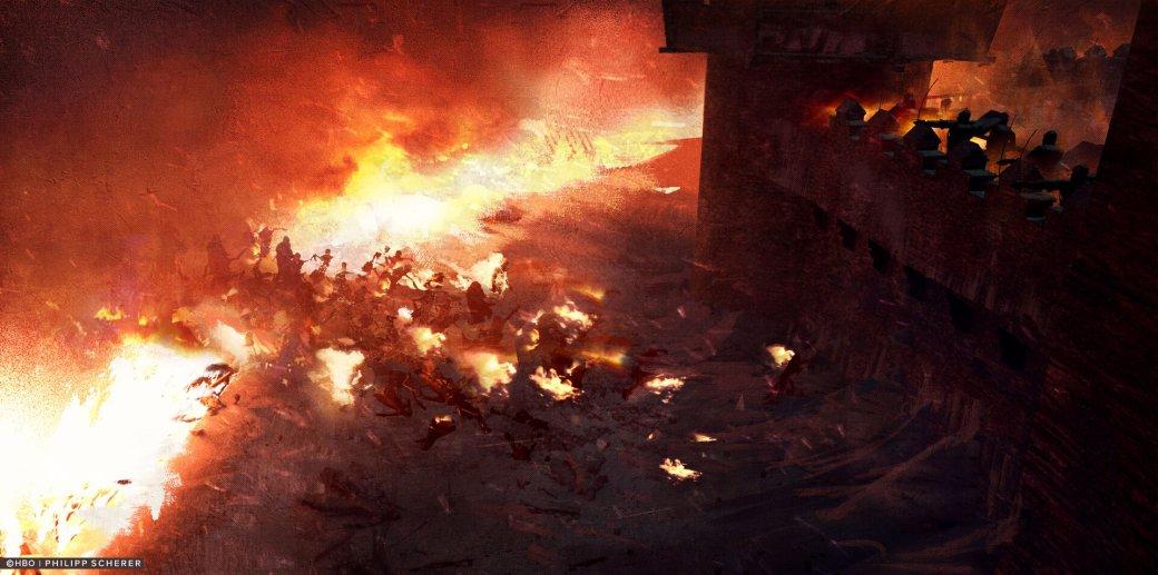 Художник выложил концепт-арты к8 сезону «Игры престолов». Иххоть сейчас ставь нарабочий стол | Канобу - Изображение 681
