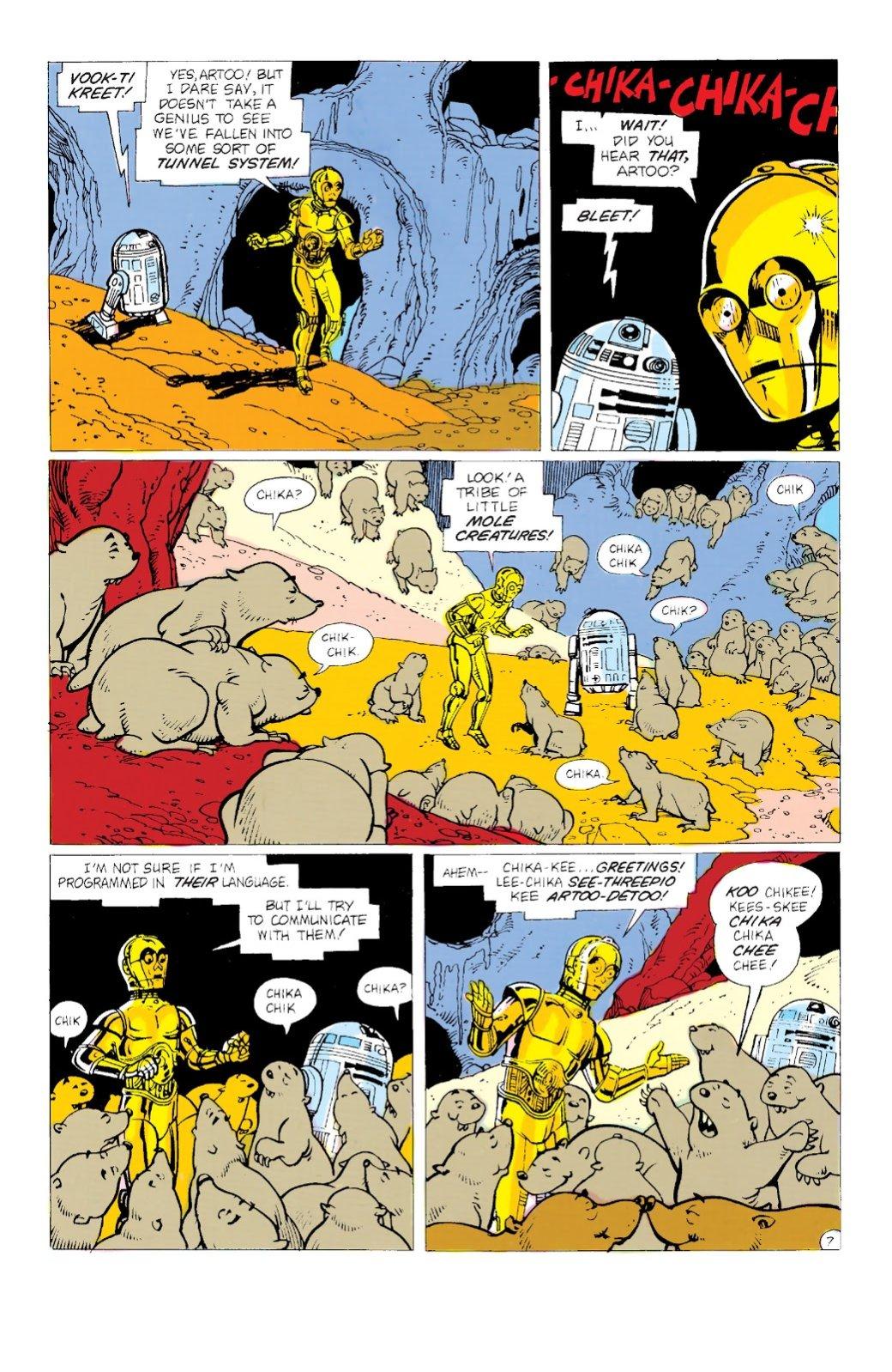 Самые странные инеобычные комиксы по«Звездным войнам»: отстимпанка доСредневековья. - Изображение 6
