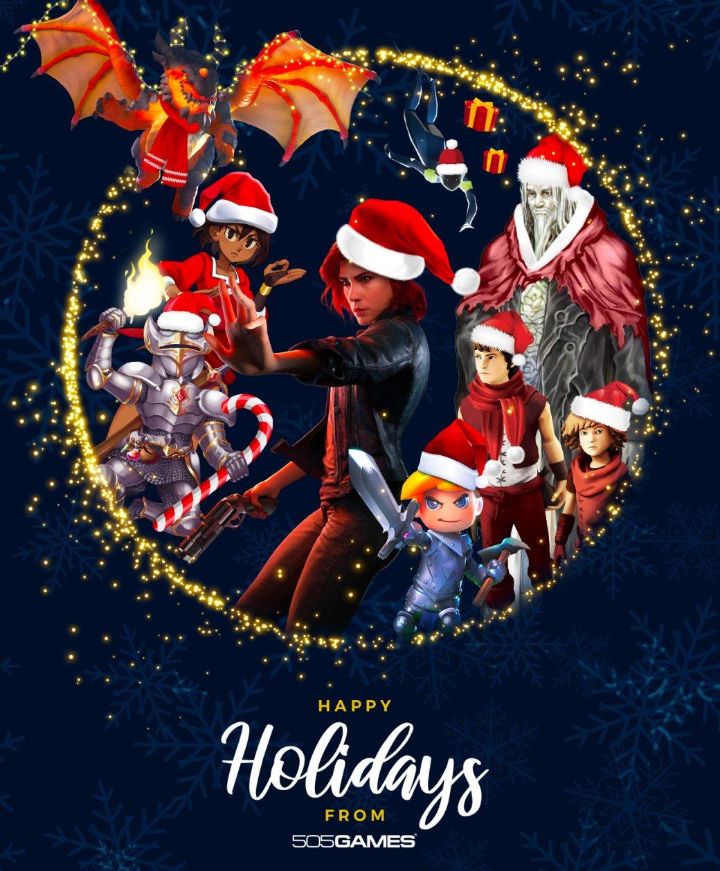 Разработчики поздравляют игроков с Рождеством. Подборка праздничных открыток   Канобу - Изображение 12498