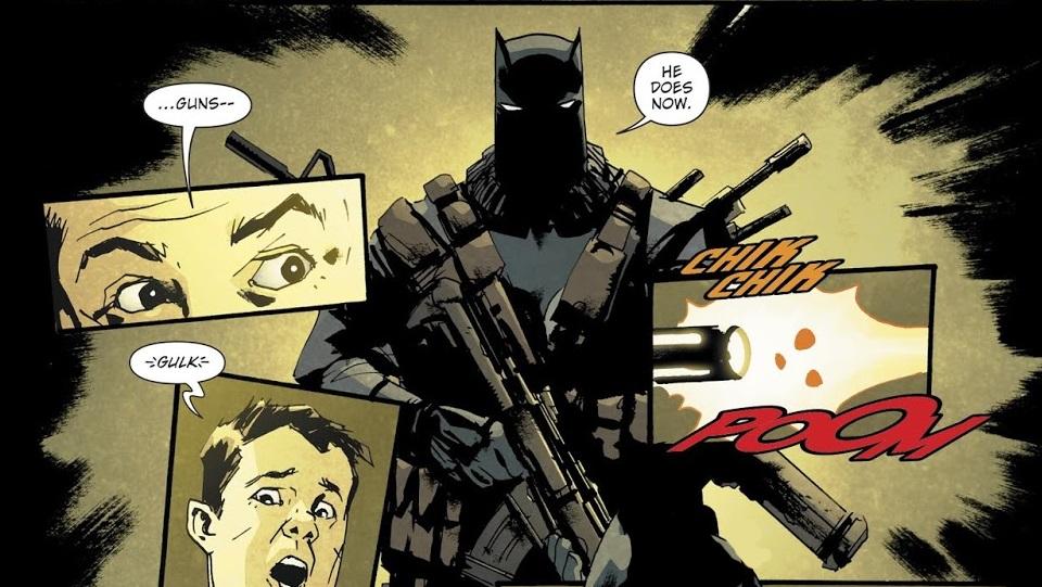 Бэтмен-Джокер раскидывает трупы Брюсов Уэйнов вГотэме. Каким получился комикс The Batman Who Laughs   Канобу - Изображение 11031