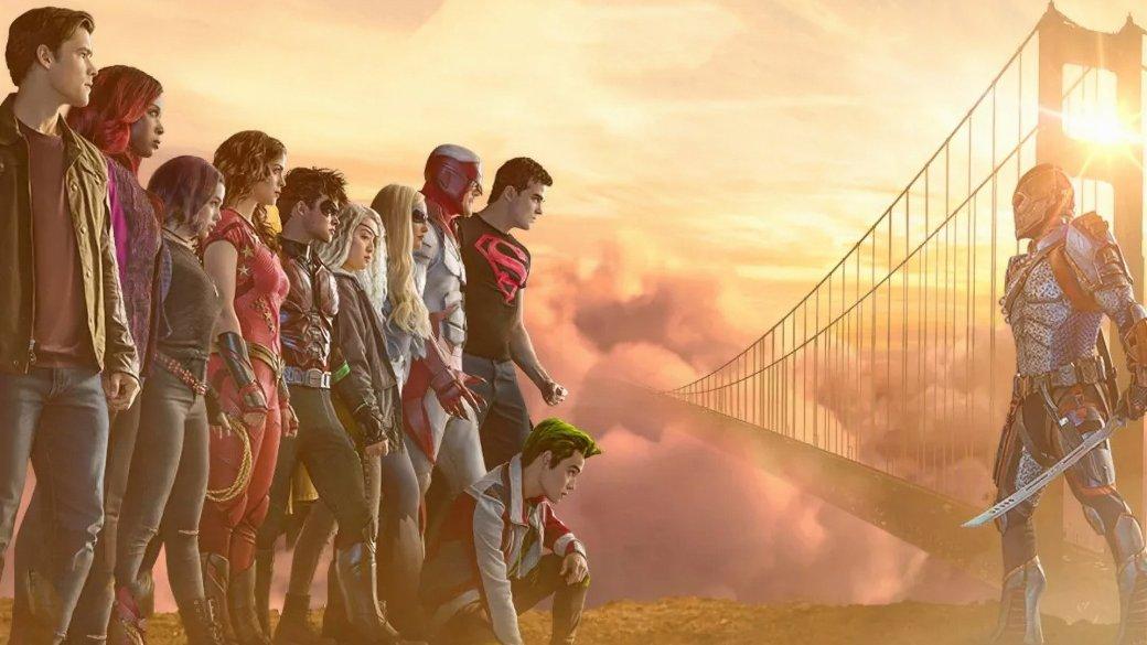 Рецензия на2 сезон «Титанов»— мультфильмы лучше!   Канобу