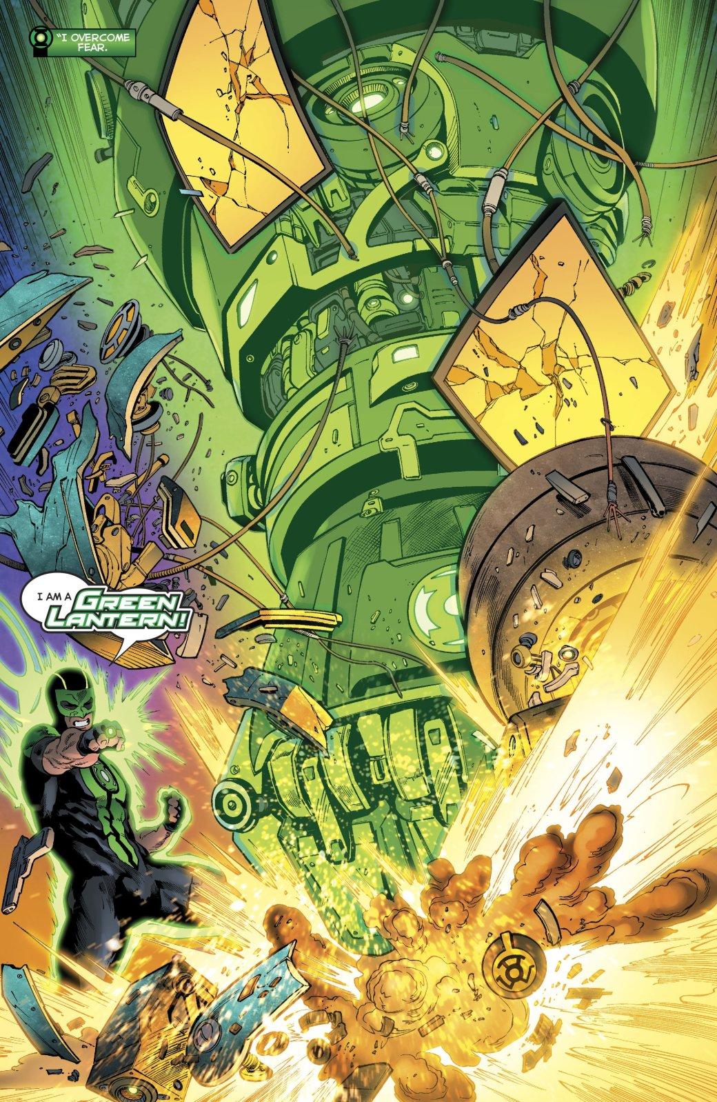Зеленому фонарю больше не нужен пистолет, и все благодаря Бэтмену | Канобу - Изображение 11533