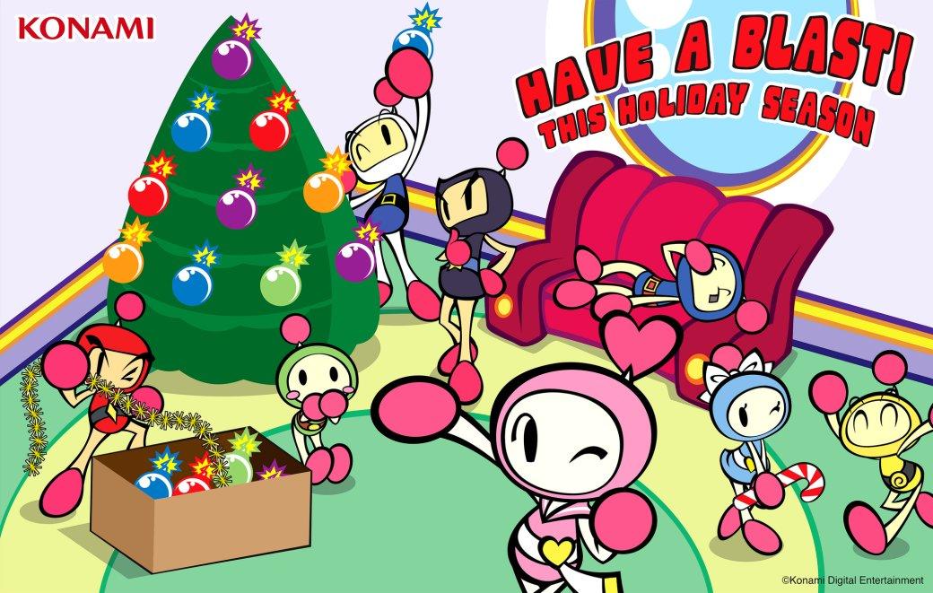 Разработчики поздравляют игроков с Рождеством. Подборка праздничных открыток   Канобу - Изображение 12491