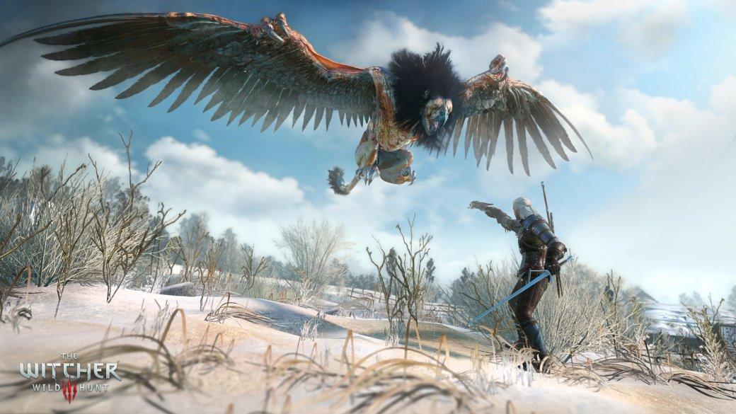 Гифка дня: какой-то неправильный монстр вThe Witcher 3: Wild Hunt | Канобу - Изображение 0