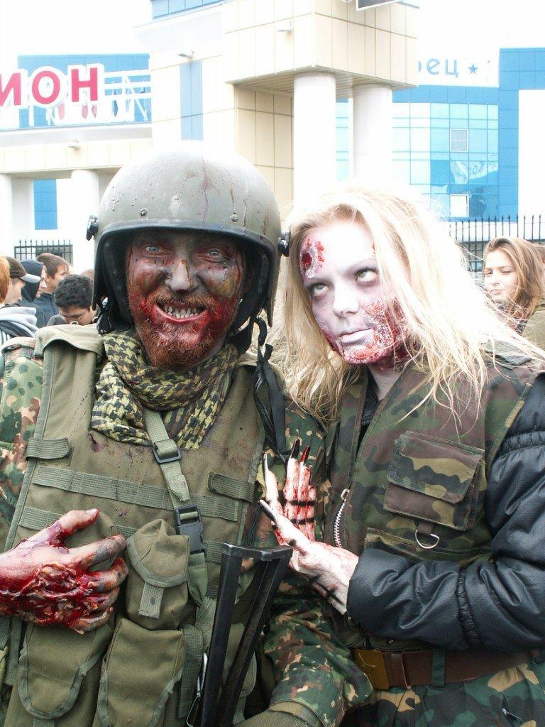 В Йошкар-Оле прошел первый зомби-парад | Канобу - Изображение 6