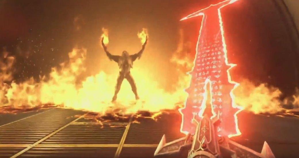DOOM Eternal— крюк Скорпиона иАднаЗемле. Что еще показали вгеймплее игры наQuakeCon 2018?   Канобу - Изображение 2096