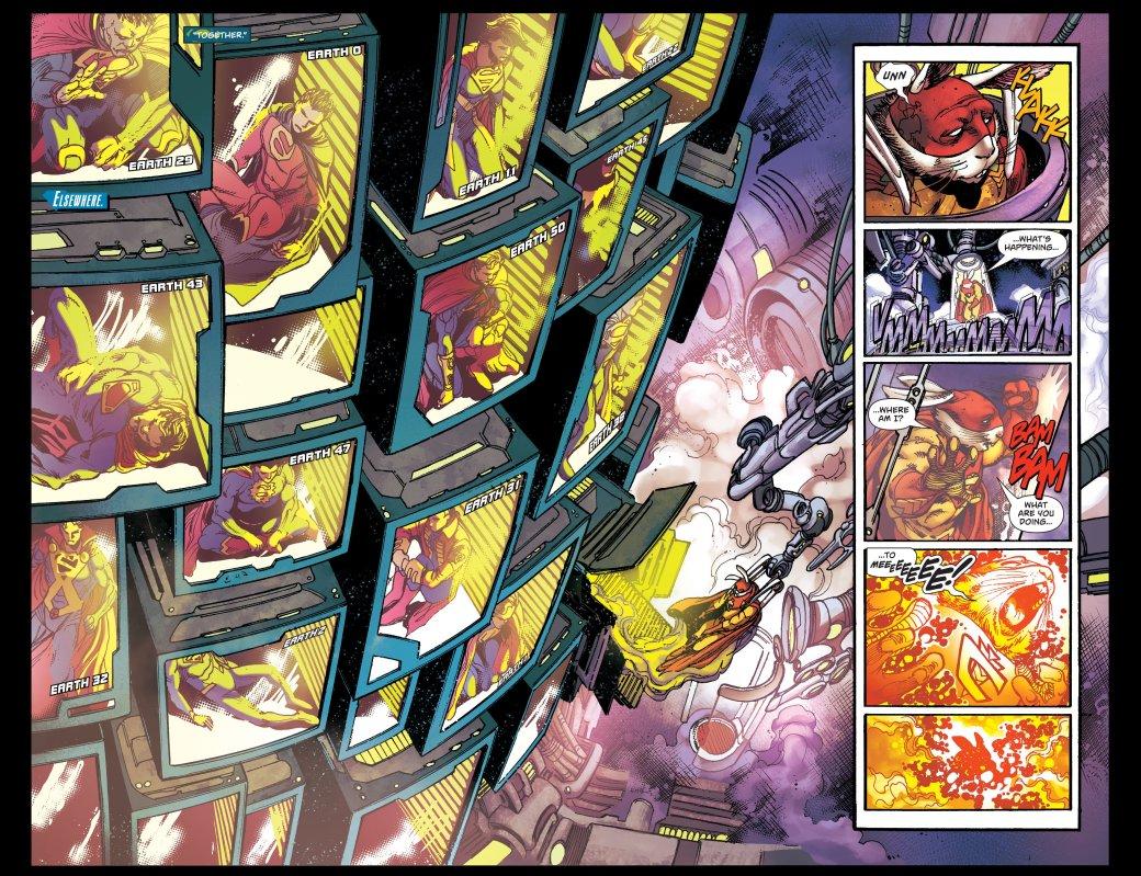 Советский, чернокожий, китайский и другие Супермены в новом комиксе DC