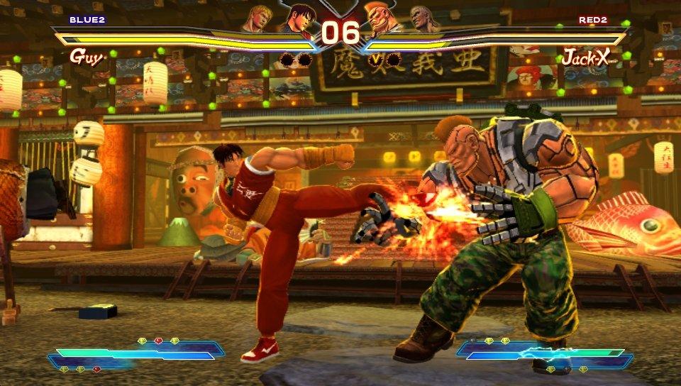 Рецензия на Street Fighter x Tekken