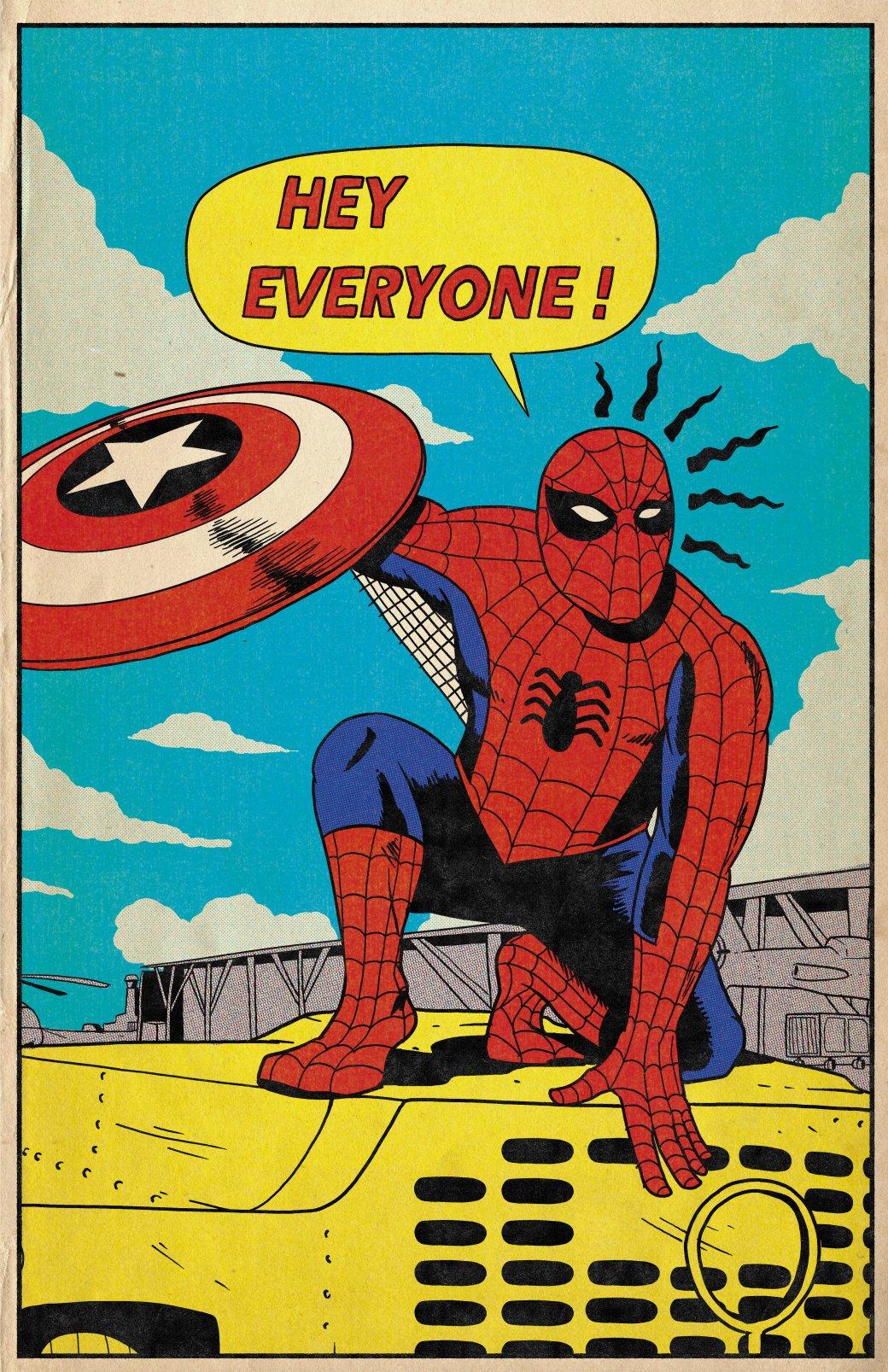 Фанат Marvel рисует знаменитые сцены из фильмов в стилистике классических комиксов  | Канобу - Изображение 2