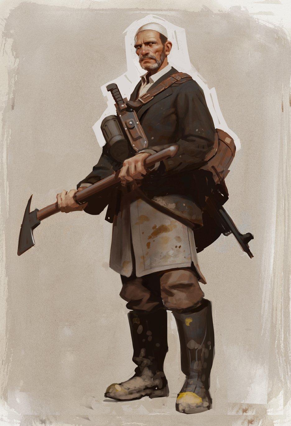 Утечка: первые концепт-арты персонажей изLeft 4 Dead3   Канобу - Изображение 2