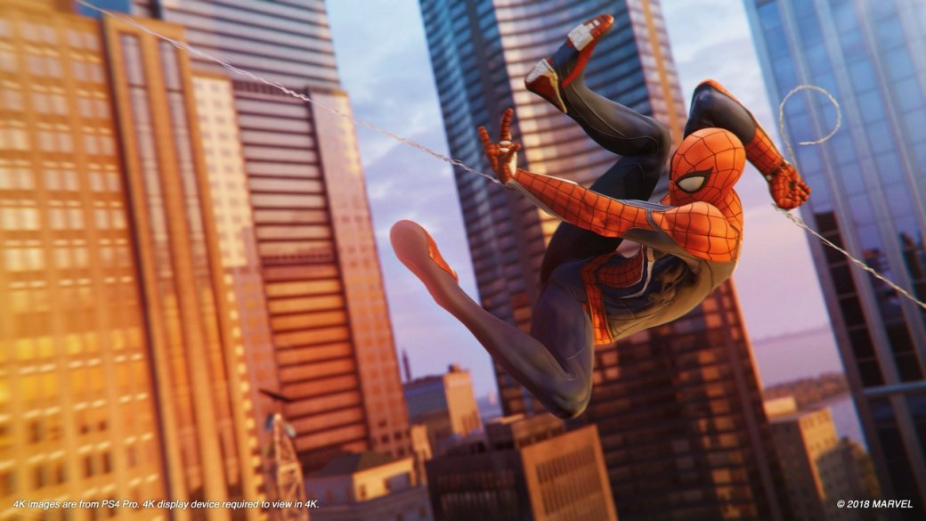 «Вынаверняка погрузитесь сголовой»: критики остались довольны демо Spider-Man, ноесть нюансы. - Изображение 3